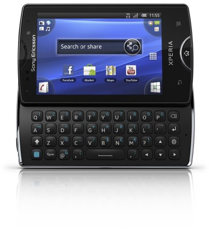 Sony Ericsson Xperia mini pro SK17a Unlocked Phone–U.S. Warranty (Black)