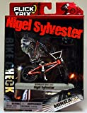 Flick Trix Toy Collectable - Metal Finger Bike - Nigel Sylvester - Mirraco Bike Company