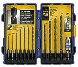 Irwin Tools 4935643 Black Oxide Hex Shank Drill Bit, 5/64-Inch