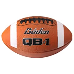 Buy Baden F7000L Official sz QB1 Perfection Leather Football with Black Lace by Baden