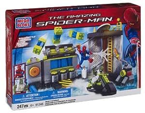 Mega Bloks Spiderman 4 Sewer Lab HQ