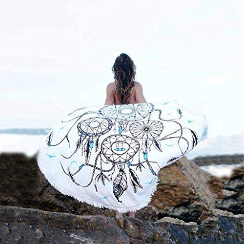 Hatop Dreamcatcher Printed Beach Cover Up Bikini Boho Dress Swimwear Bathing Suit