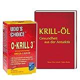 Krillöl von Udo Erasmus, 60 Kapseln + Buch: Krill-Öl, 120 Seiten (Sie sparen 10 Euro gegenüber Einzelkauf)