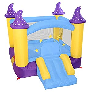 Cloud 9 Wizard's Spell Bounce House - Inflatable Magic Fantasy Castle without Blower