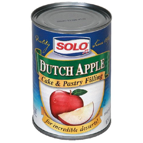 Buy Solo Filling, Dutch Apple, 12 Ounces (Pack of 6) (Solo, Health & Personal Care, Products, Food & Snacks, Baking Supplies, Pie & Cobbler Fillings)