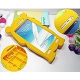 Winnie the Pooh 3D Cartoon Soft Shell Case for Samsung Galaxy Note II GT-N7100