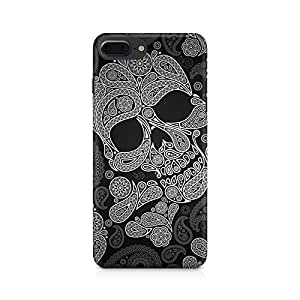 Generic Paisley Skull Premium Printed Mobile Back Case For Apple iPhone 7 Plus