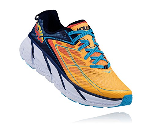 Hoka One One Clifton 3 Medieval Blue/Gold Fusion EU 42 USA 8.5 UK 8 Japan 26,5