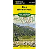 Taos, Wheeler Peak (National Geographic Trails Illustrated Map)
