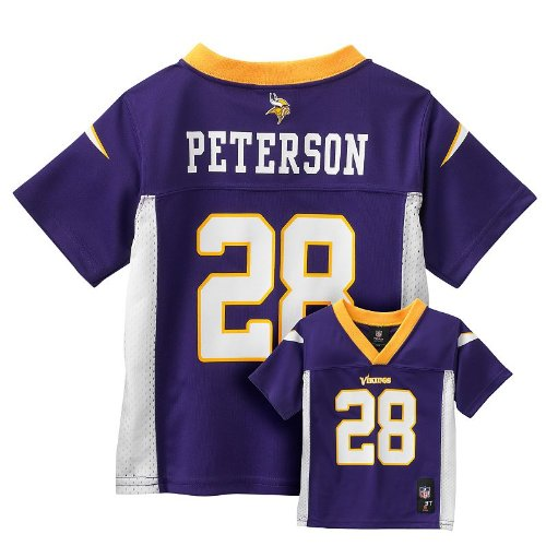 NFL Jersey's Youth Minnesota Vikings Adrian Peterson Nike Purple Team Color Game Jersey