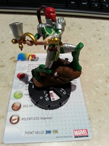 Marvel Heroclix Fear Itself Blitzkrieg Skadi
