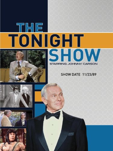 The Tonight Show starring Johnny Carson - Show Date: 11/23/89