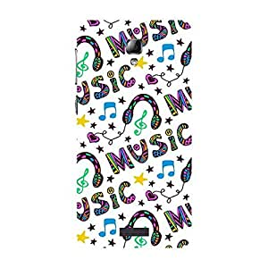 Garmor Designer Plastic Back Cover For Lenovo A1000