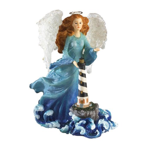 Boyds Resin From Enesco Angel Of Guidance Figurine 7 In