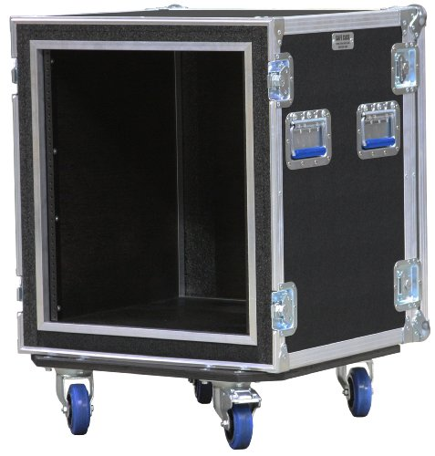 "Safe Case 12 Space Ata Shock Rack Case 18"" Deep front-178760"