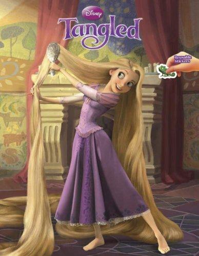 Tangled Reusable Sticker Book (Disney Tangled)