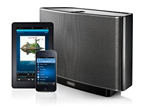 SONOS PLAY:5 All-in-One Wireless Music Player with 5 Integrated Speakers (S5, Black)