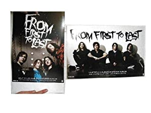 From First To Last Poster 2 Sided