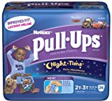 Huggies Pull-Ups Training Pants, Night-Time, Size 2T-3T (18-34 lb), Disney Pixar Toy Story, Jumbo, 24 ct.