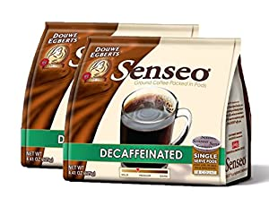 Senseo Decaffeinated Coffee, 18-count Pods (Pack of 2) by Douwe Egberts
