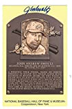 Autographed John Smoltz Hall of Fame Gold Plaque