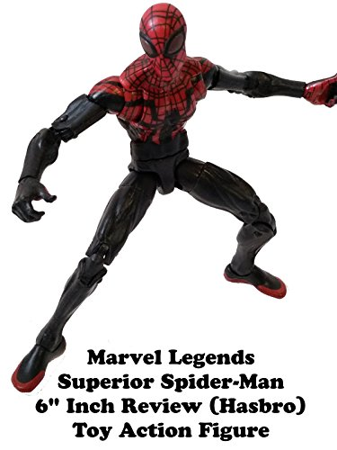 "Marvel Legends SUPERIOR SPIDER-MAN 6"" inch Review (Hasbro) action figure toy"