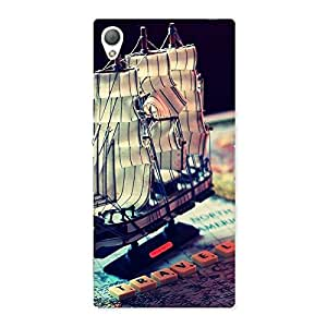 Ajay Enterprises ship of pirates Back Case Cover for Sony Xperia Z3
