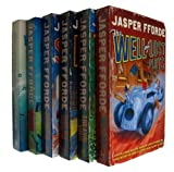 Jasper Fforde The Thursday Next Series Collection Jasper Fforde 6 Books Set (The Eyre Affair, The Well of Lost Plots, Something Rotten, Lost in a Good Book, One of our Thursday in Missing, First Among Sequels)
