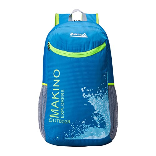 Sac d'escalade en plein air / sac à bandoulière couple ultra-léger-bleu 20L