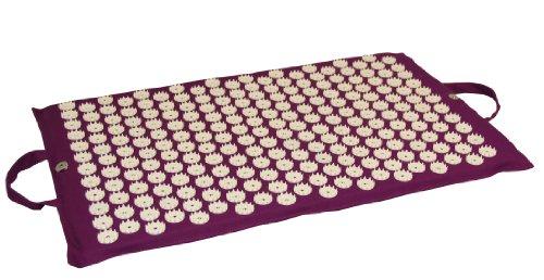 Yoga-Mad Tapis d acupression Aubergine ~ Yoga Tapis 3ae815fe58e