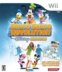 Dance Dance Revolution Disney Grooves Includes Two Dance Mats - Nintendo Wii