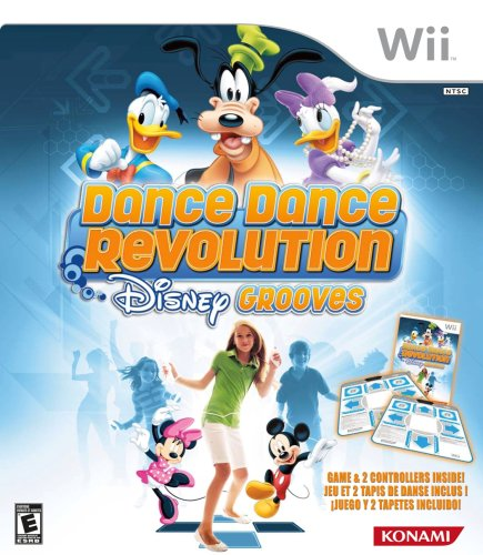 Dance Dance Revolution Disney Grooves Includes Two Dance Mats