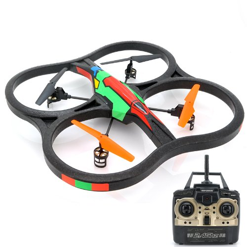 Wltoys V262 24ghz Big 6 Axis Rc Quadcopter RTF