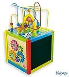Andreu Toys 30 x 30 x 55 cm Cubo de Actividad (Multi-Color)
