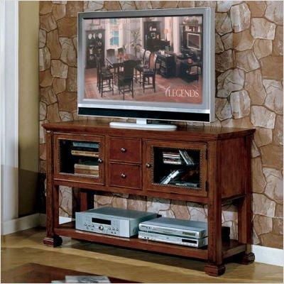 Cheap Cambridge TV Console – Sofa Table (Chestnut) (32″H x 52″W x 18″D) (ZG-C4300.CHN)