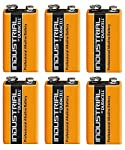 Duracell 6 x 9V Volt Industrial Battery Alkaline Replaces Procell Expiry 2019 by Duracell
