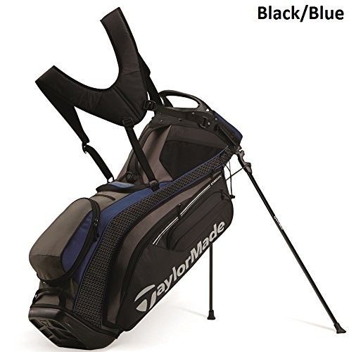 TaylorMade PureLite Stand Bag, Black/Blue (Taylormade Purelite Stand Bag compare prices)