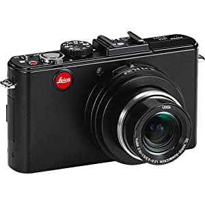 "Leica D-LUX5 10.1 MP Compact Digital Camera with Super-Fast f/2.0 Lens, 3.8x Zoom Lens, 3"" LCD Display, O.I.S. Image Stabilization (Black)"
