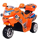 Lil' Rider FX 3 Wheel Battery Powered Bike, Orange