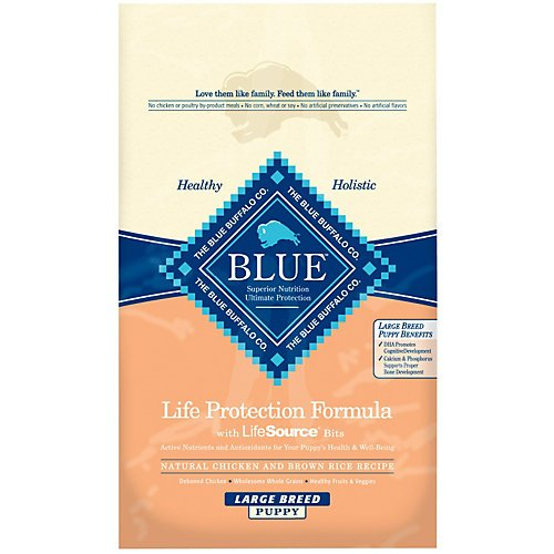 Blue Buffalo Large Breed Puppy Chicken and Brown Rice Dry Fo