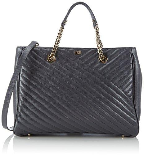 Cavalli Class - Medium Handbag Idol 005, Borsa A Tracolla da donna, grigio (003 003), 34x26x14 cm (B x H x T)