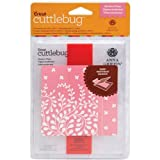 Provo Craft 2002109 Cuttlebug A2 Embossing Folder-Border Set-Anna Griffin Modern Vines