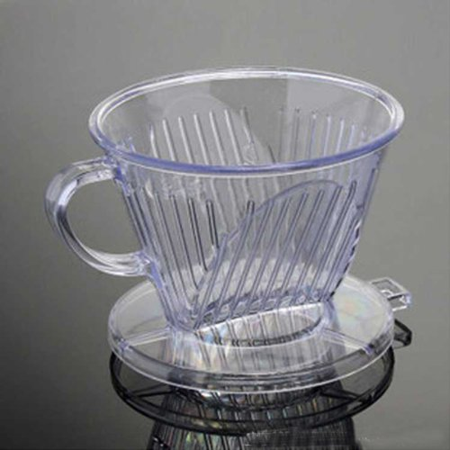 Pp Plastic Follicular Type Coffee Cup - Must Use With The Filter Paper
