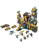 Lego Legends of Chima - Playthèmes - 70010 - Jeu de Construction - Le Temple de la Tribu Lion