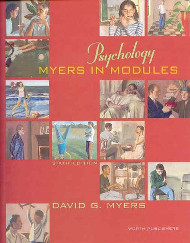 Psychology: Myers in Modules