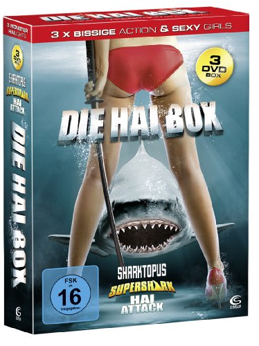 Die Hai-Box - Boxset mit 3 Hai-Knallern (Sharktopus, Supershark, Hai Attack) [3 DVDs]