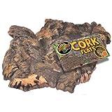 Cork Bark Flat for Terrarium [Set of 2] Size: Small (0.17' H x 0.67' W x 0.83' L)