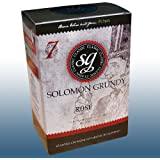 Homebrew & Wine Making - Solomon Grundy Original - 30 Bottle Rose Wine Ingredient Kit