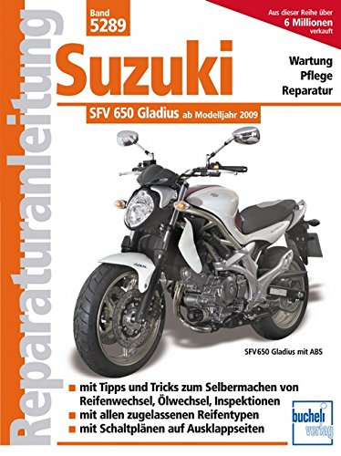Suzuki Gladius 650 ccm V2 neues