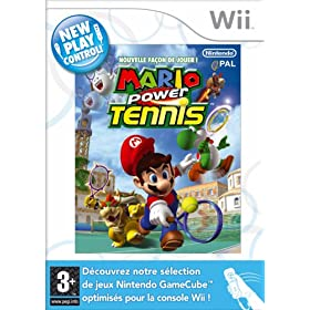 Mario power tennis (Nouvelle facon de jouer !)